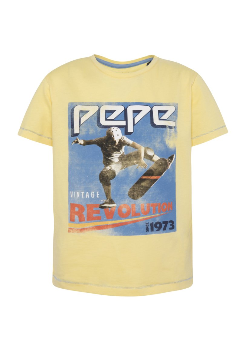 Pepe Jeans - BASILE - T-shirt con stampa - solar