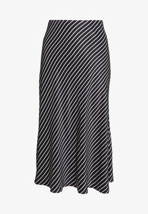 ODILE - Jupe trapèze - black