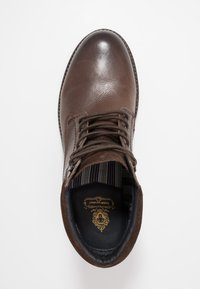 Base London - TREK - Lace-up ankle boots - brown - 1