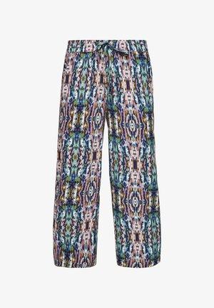 REGULAR - Trousers - pink aop