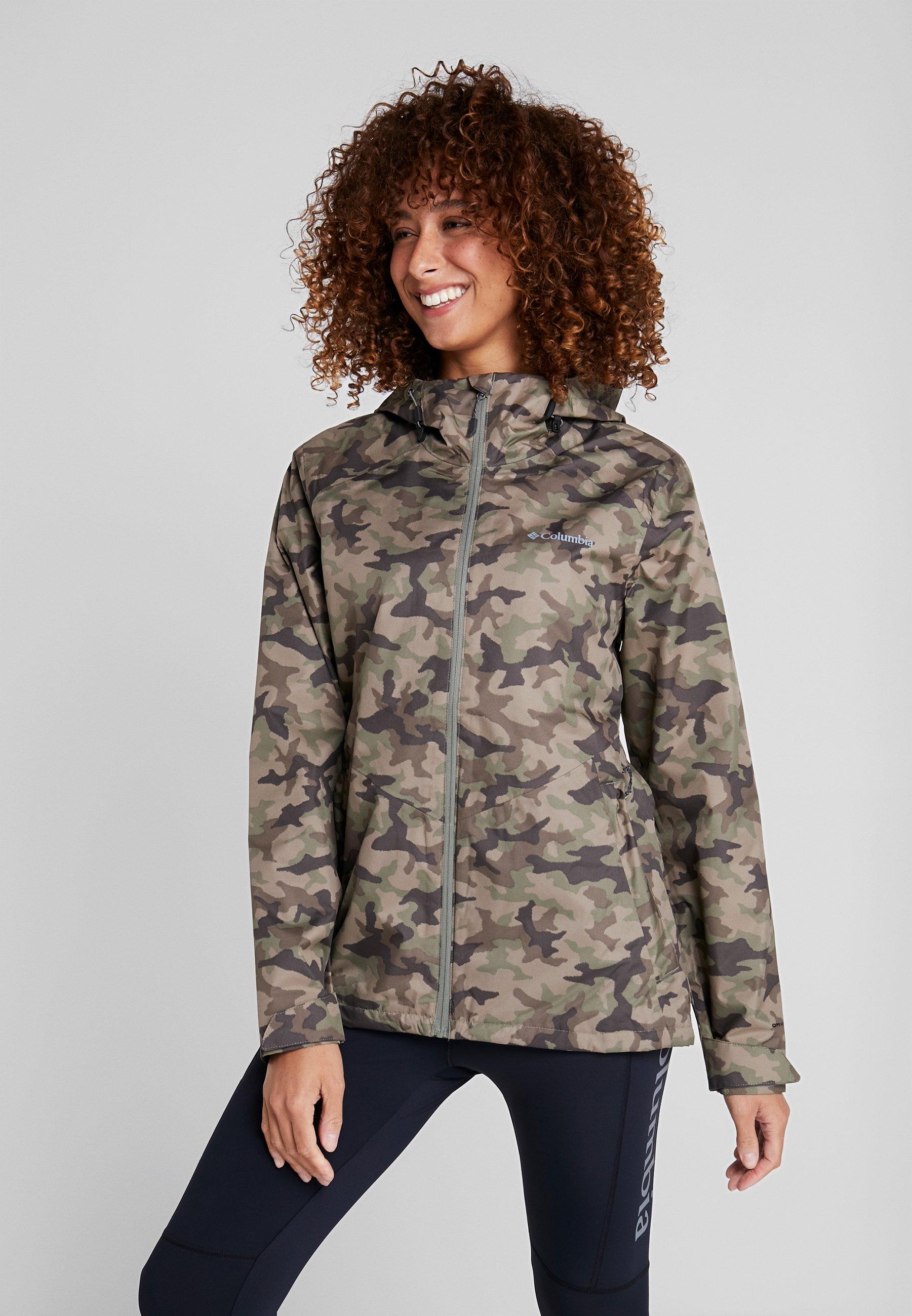 Women INNER LIMITS II JACKET - Hardshell jacket - cypress traditional
