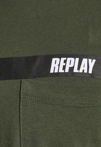 Replay - Print T-shirt - dark military - 6