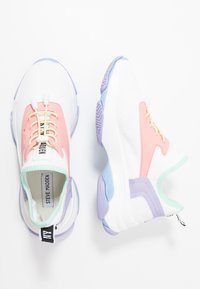 Steve Madden - MATCH - Sneakers - white/pink - 3