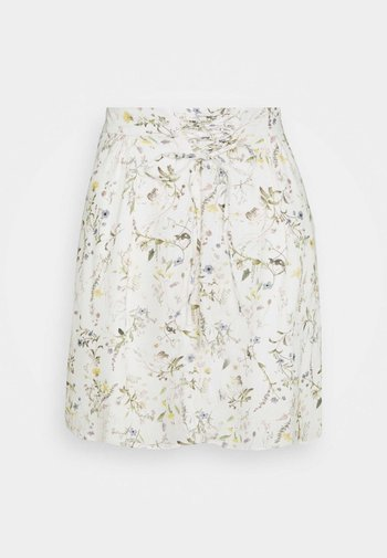 HOLI - A-line skirt - ecru