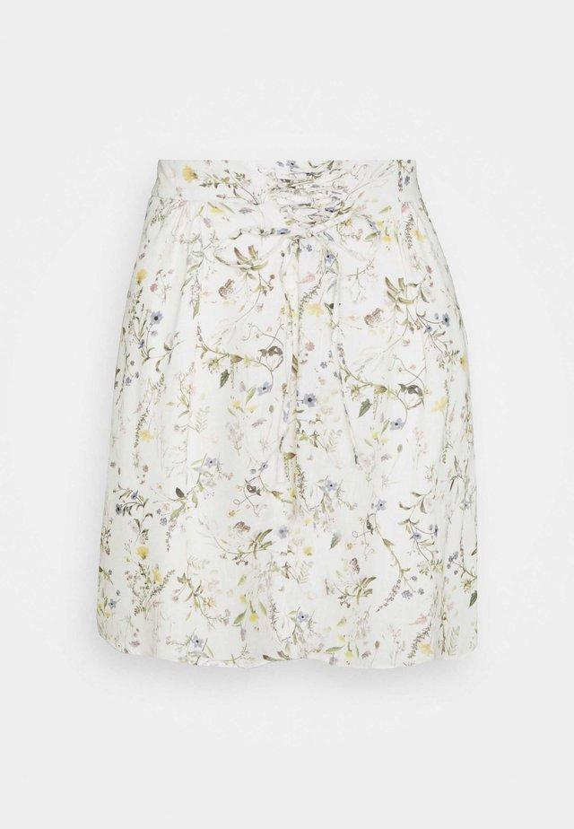 HOLI - A-snit nederdel/ A-formede nederdele - ecru