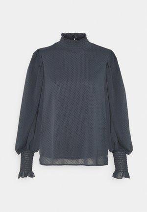 VMBARLETTA HIGH NECK - Blouse - ombre blue