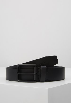 UNISEX LEATHER - Cintura - black