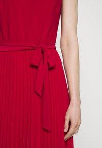 Lauren Ralph Lauren - MID WEIGHT DRESS  COMBO - Day dress - berry sorbet - 8