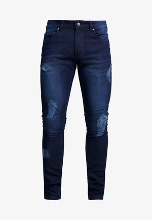 DISTRESSED  - Jeans Skinny Fit - dark wash