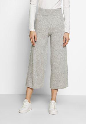 TROUSERS - Pantalones - silver stone