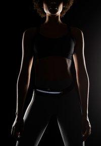 adidas Performance - RUN BELT - Bum bag - black/reflektive silver - 5