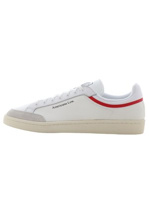 AMERICANA LOW - Sneakersy niskie - ftwr white/glory red/chalk white