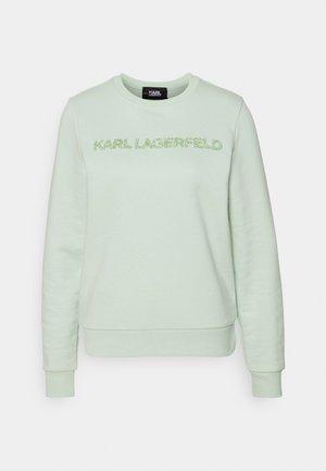 KANDY KRUSH LOGO - Sweatshirt - pastel green