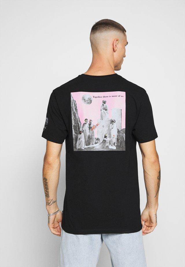 SCHNIPS SCHNIPS FA SS - T-Shirt print - black