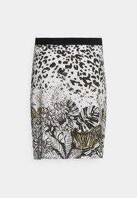 Desigual - TOUCHÉ - Pencil skirt - white - 6