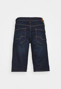Esprit - Denim shorts - blue dark wash - 1