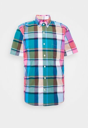 Overhemd - madras blue allure