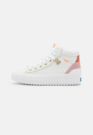 DEMI MID  - Sneakersy wysokie - white