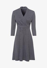 zero - MIT WELLENPRINT - Jersey dress - dark blue - 4