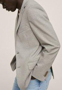 Mango - Blazer jacket - open beige - 3