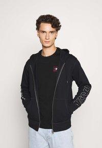 Diesel - BRANDON - veste en sweat zippée - black - 0