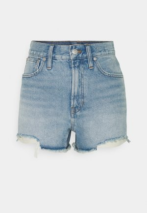 PERFECT  - Denim shorts - light blue denim