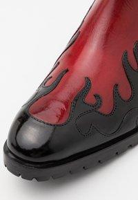 Melvin & Hamilton - TOM - Cowboy/biker ankle boot - black - 5