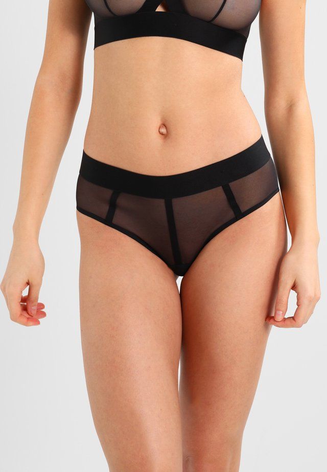 SHEERS HIPSTER - Briefs - black