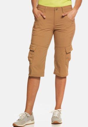 MARLA - Pantalon 3/4 de sport - tobaco
