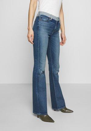 KELLY - Bootcut jeans - dark crush