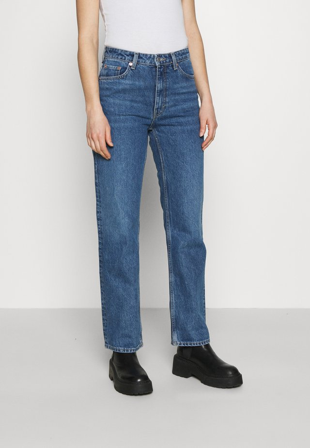 VOYAGE MORNING - Straight leg jeans - sea blue