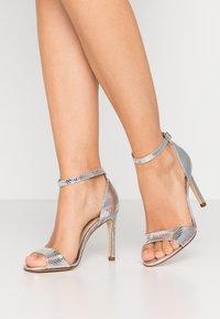 San Marina - AVANALA - High heeled sandals - argent - 0