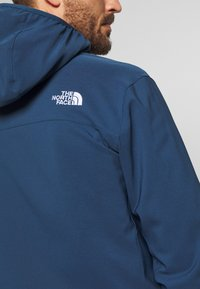 The North Face - NIMBLE HOODIE - Veste softshell - blue wing teal - 4
