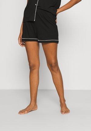 NIGHT SHORTS CISSI - Pyjama bottoms - black