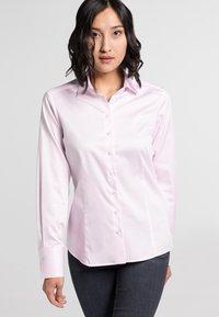 Eterna - MODERN CLASSIC - Button-down blouse - pink - 0