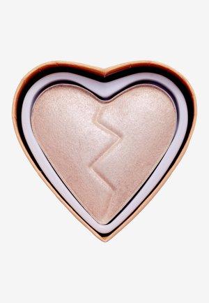 I HEART REVOLUTION HEARTBREAKERS HIGHLIGHTER  - Highlighter - divine