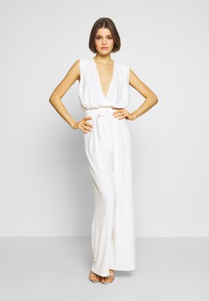LOVELY WIDE - Overall / Jumpsuit - white