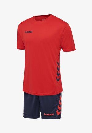 Sports shorts - true red/marine