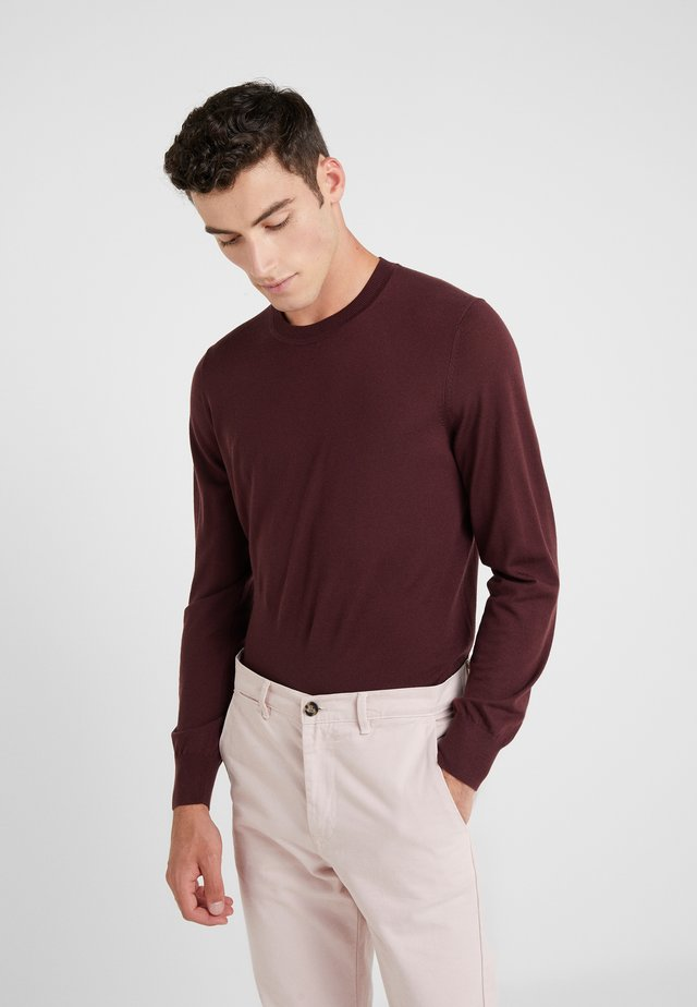 CREW NECK - Sweter - chianti