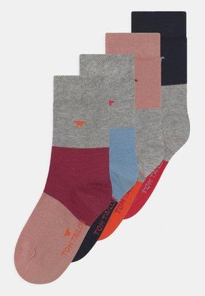 COLORBLOCKING 4 PACK UNISEX - Socks - multi-coloured