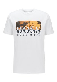 BOSS - TSUMMER  - Print T-shirt - white - 0