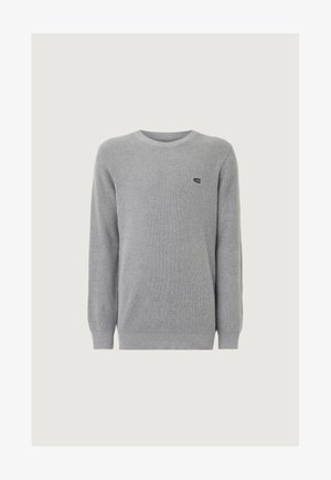 Pullover - silver melee