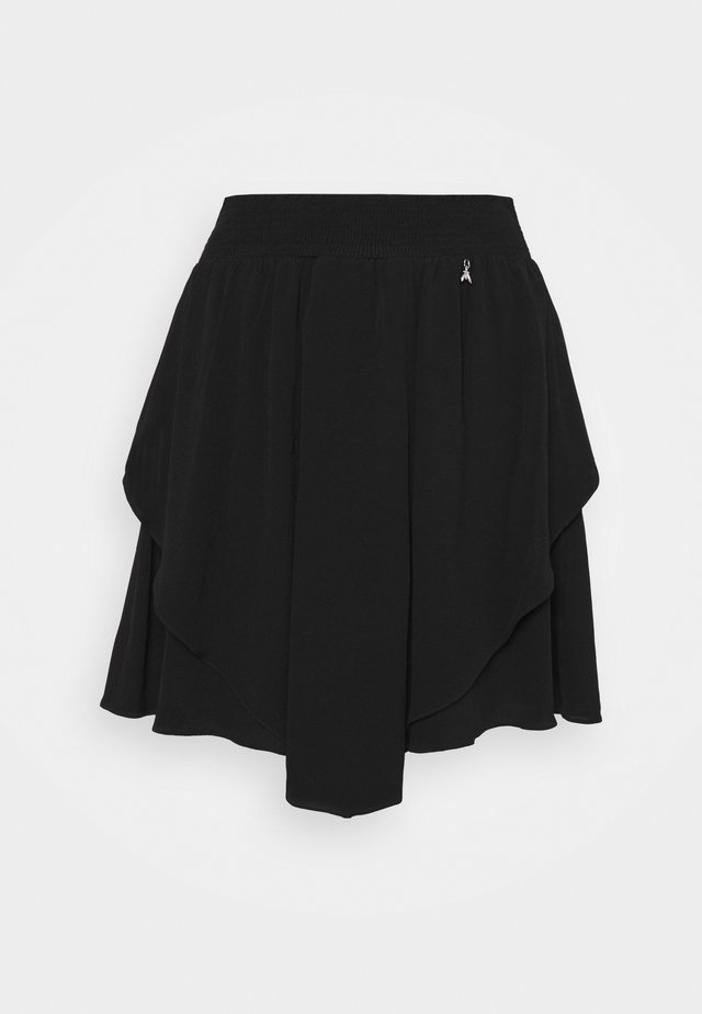 GONNA SKIRT - Jupe trapèze - nero