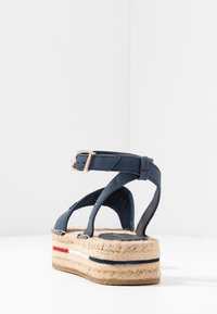 Tommy Hilfiger - TROPICAL FADE OPENED - Alpargatas - sport navy - 5
