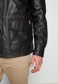 Bally - JACKET - Veste en cuir - black - 6