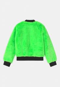 DKNY - REVERSIBLE - Winter jacket - fluo green - 1
