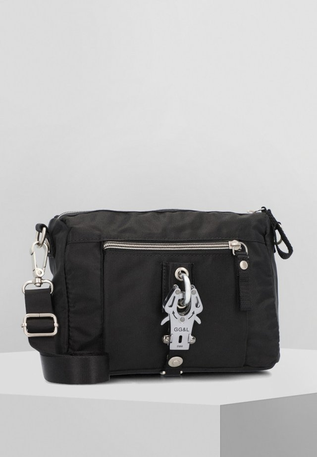 THE DROPS  - Across body bag - black