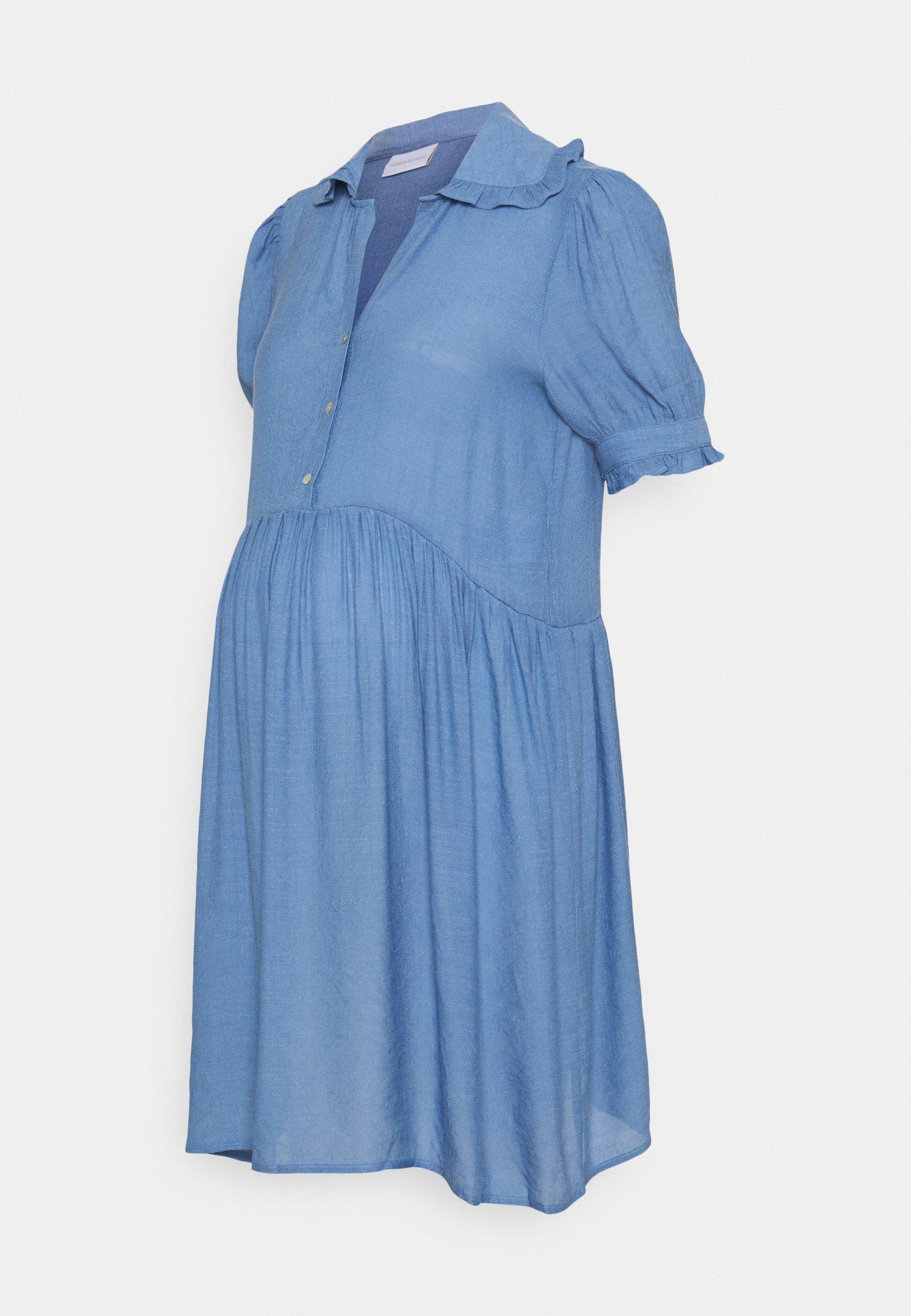Mujer MLEVANGA LIA SHORT DRESS - Vestido camisero