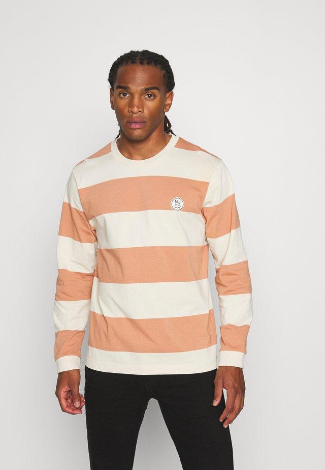 RUDI - T-shirt à manches longues - apricot