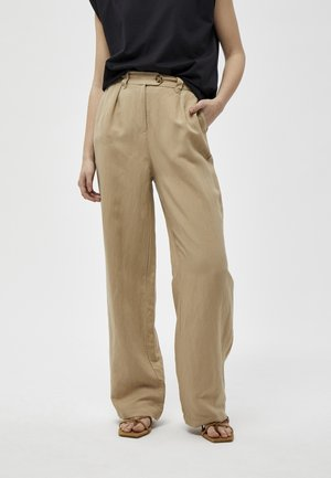 MAKIRA  - Trousers -  sand